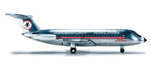 HE523455 Herpa Wings American BAC1-11-400 1:500 Model Airplane