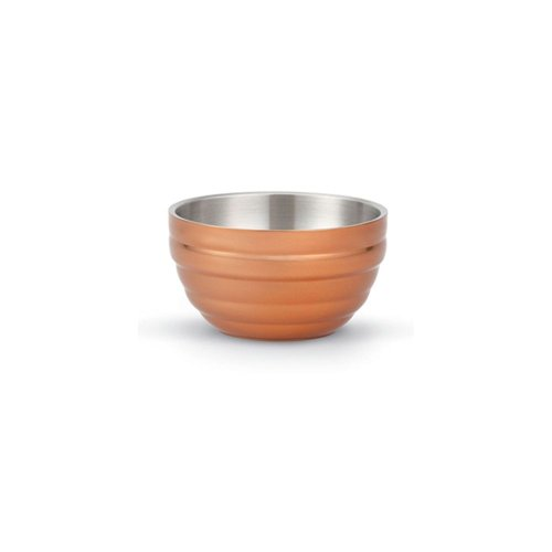 Vollrath 4659070 Cool Cooper Round 1.7 Qt. Double Wall Bowl