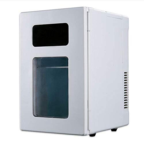WSJTT 10L 12V DC 210V-240V AC refrigeration Heating Cold box Household Car use mini fridge Dual-use car Portable Refrigerating cabinet A+Energy Rating Ideal for Bedroom and small Office space