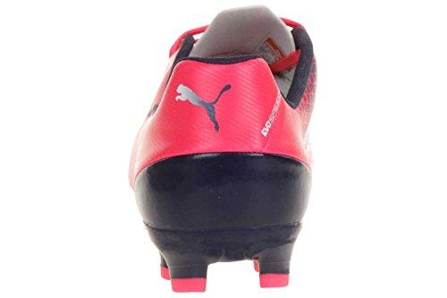 Puma Evospeed 5.3 Fg - Zapatillas de fútbol Rot (bright plasma-white-peacoat 05)