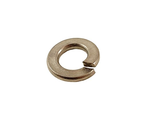 Stainless 1/4 Inch Lock Washers, 304 Stainless Steel, 100 pieces (1/4 Lock Washers) ()