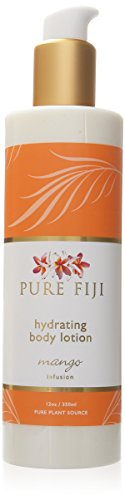 Pure Fiji Hydrating Body Lotion, Mango, 12 Ounce