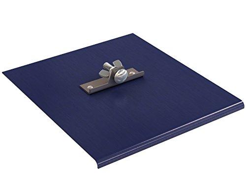 Bon 22-756 Blue Steel Walking Edger, 9-inch x 10-inch, 1/4-inch Radius, 3/8-inch Depth by BON