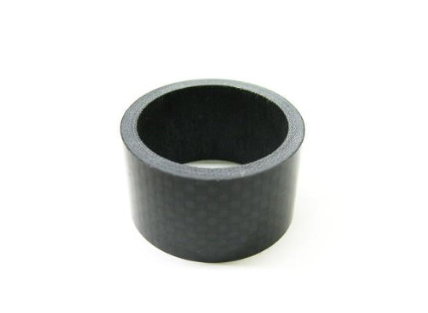 祭司犯罪相反するDIA COMPE(ダイア コンペ) ヘッドコラム アルミニウムスペーサー 1インチ (φ25.4) 10mm シルバー