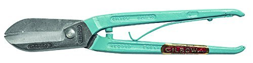 Gilbow G245S Spring-Handled Tin Snip 12-inch by GILBOW