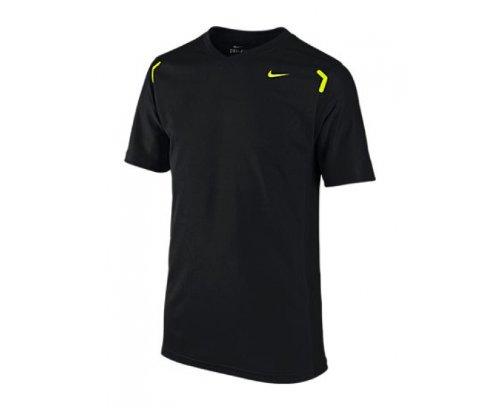 Nike Camiseta de pádel para niño, tamaño 10-12 años/M, color negro: Amazon.es: Ropa y accesorios