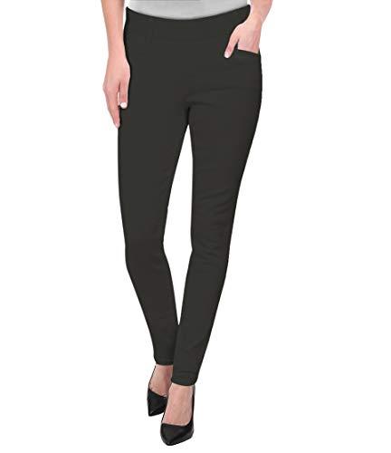 HyBrid & Company Womens Super Comfy Millenium Twill Pants KP47812X Charcoal 3X