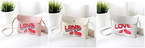 Bandoulière Couleur Lady Blanc Sac Unie Shanzwh Print À amour Une Douce C56nxUqx