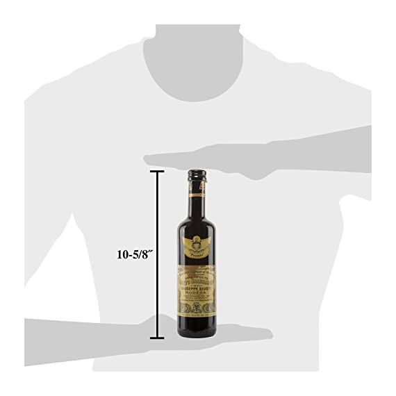 "Giuseppe Giusti""Premio"" Balsamic Vinegar of Modena 16.9 fl.oz (500ml) 4  Try it as a thick, tart-sweet addition to any dish, from poultry, fish, meat and game or cheese to fruits and desserts.  Try it on braised pork, marinate a chicken with it or soak it up with hunks of Pugliese bread"
