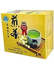TLY Jasmine Japan Green Tea 50 Bags, 100g
