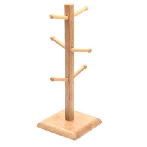 Generic Wood Mug Rack well-wreapped