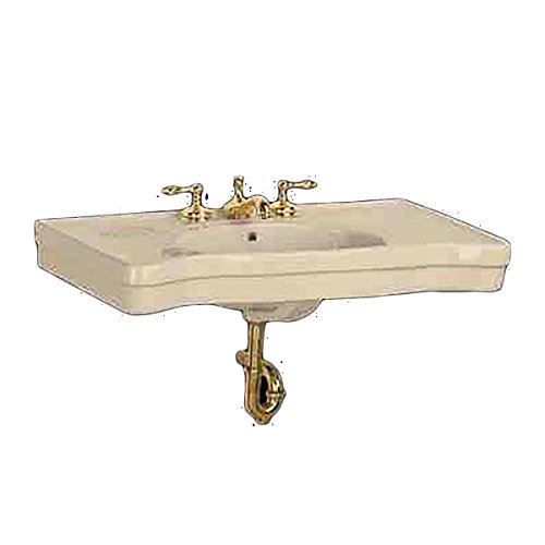 Renovator's Supply Wall Mount Console Sink Deluxe Top Bone China Southern Belle ()