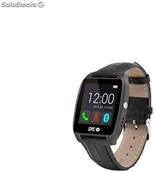 SPC Smartee Watch Edition Reloj Inteligente Negro 9606T: Amazon.es ...