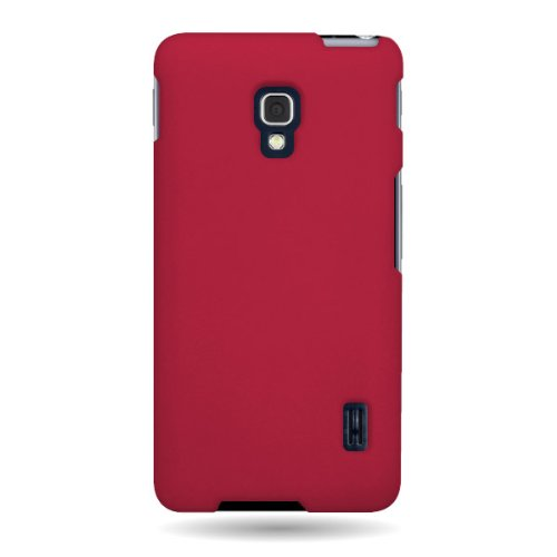 CoverON-Hard-Rubberized-Slim-Case-for-LG-Optimus-F6-with-Cover-Removal-Pry-Tool