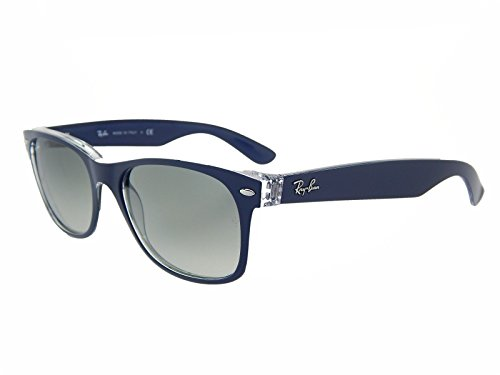 New Ray Ban RB2132 605371 Blue+ Clear Top/Grey Gradient 52mm - Wafarer New