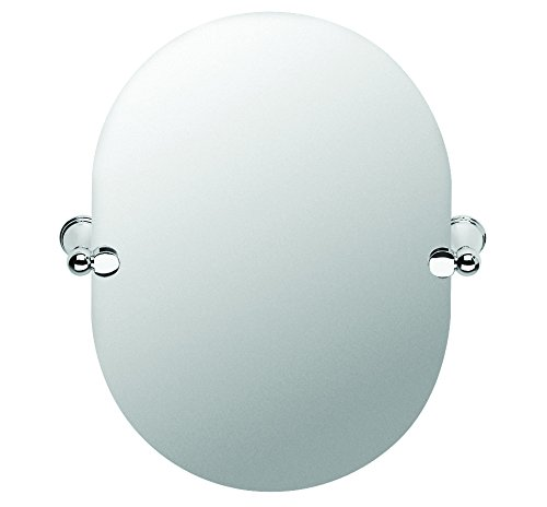 Croydex Westminster Wall Mounted Mirror with Zinc Alloy Construction, Chrome QM201041BOX Bathroom Fittings Bathroom_Accessories Misc