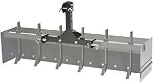 "Impact Implements CAT-0 Box Scraper, 55"" width, for UTV, Tractor from MotoAlliance"