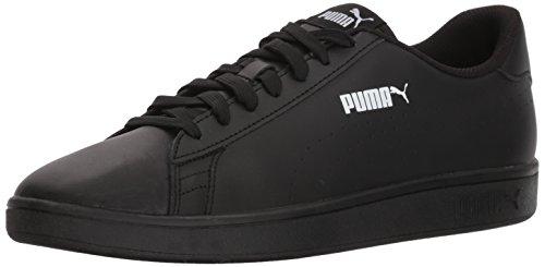 Sneaker Puma Uomo Smash Pelle Perf Puma Nero-puma Nero