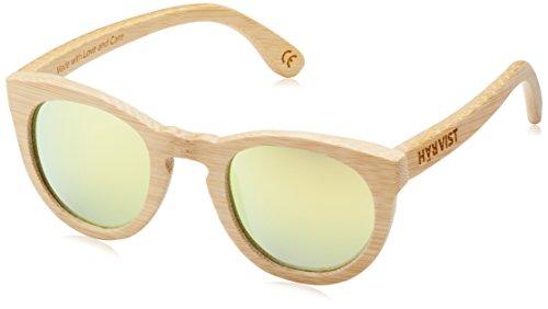 de Gafas Amarillo color de madera Roundwood unisex Bambú Multicolor HÄRVIST sol bambú pO7Ixq