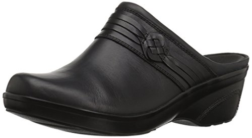 - Clarks Women's Marion Jess Clog, Black Leather, 10 W US
