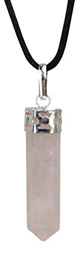 Luck Trader Rose Quartz Chakra Pendulum Pendant