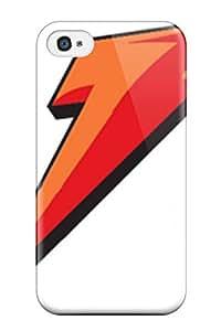 Unique Design Iphone 4/4s Durable Tpu Case Cover Gatorade Logo