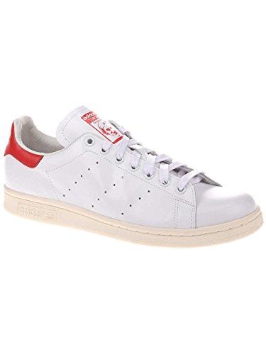 adidas Stan Smith - Zapatillas Hombre Blanco / Rojo