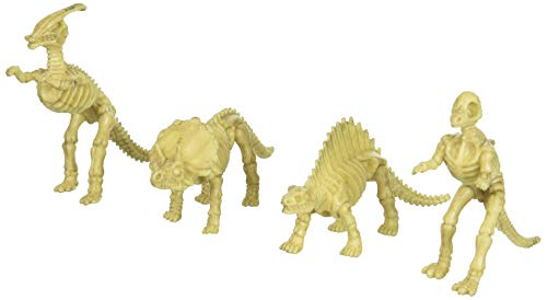 US Toy - Assorted Dinosaur Skeleton Toy Figures, Made of Plastic, (2-Pack of 12)]()