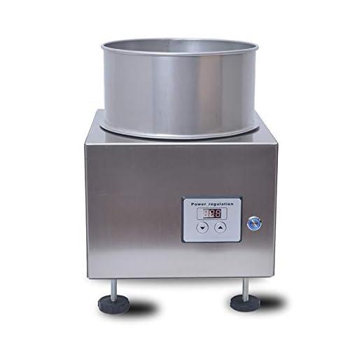 JIAWANSHUN 1 Pound Coffee Bean Cooler Machine Coffee Roasting Cooling Plate for Home Use 110V, black