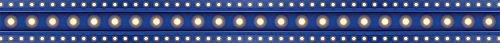 Teacher Created Resources Dark Blue Marquee Straight Border Trim (5868)