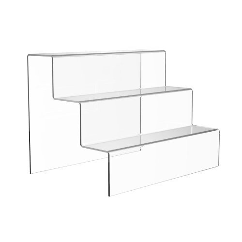 Extra Large Acrylic 3 Step Counter Display Stand - Free Shipping!