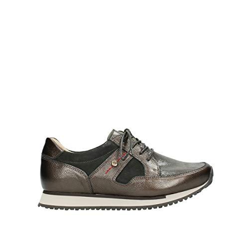Sneaker Stretch 5804 Wolky 10820 84300 Veloursleder Braun Donna qRwvnwE