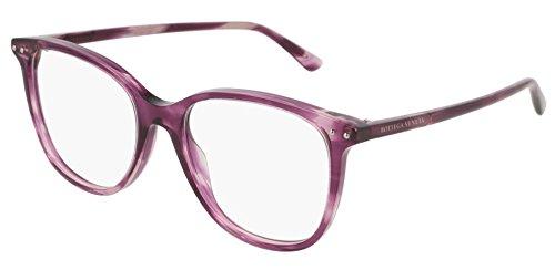 BOTTEGA VENETA BV0161O 003 VIOLET viola montatura da vista lenti neutre eyewear CGtDpS