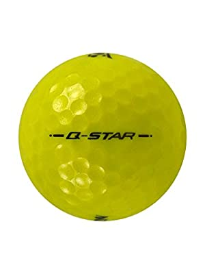 60 Srixon Q-Star Yellow Golf Balls 5A Grade