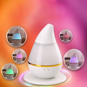 Price comparison product image Ultrasonic Home Aroma Humidifier Air Diffuser Purifier Atomizer USB Power