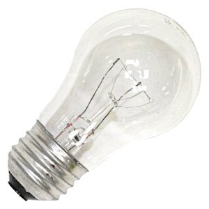 S3739 60w Appliance Bulb - Medium Base - Clear 1/Crd ()