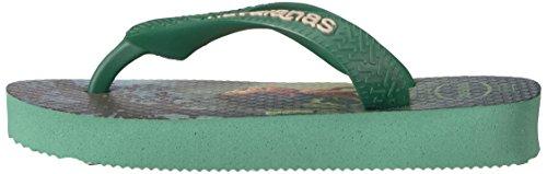 Pictures of Havaianas Kids Flip Flop Sandals, The Good Dinosaur, (Toddler/Little Kid),Green Tea, Green Tea,33/34 BR (3-4 M US Little Kid) 5