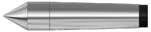 Röhm 13706 Type 665 Tool Steel Full Point Dead Center, Morse Taper 0, 9.2mm Point Diameter, 70mm Length by Röhm