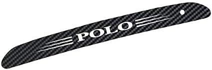 Adatech Polo Pegatina LUZ DE Freno Adhesiva Polo Color Fibra ...