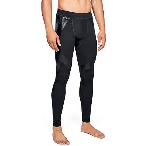 Under Armour Men's Q4 Superbase Legging, Black (001)/Black, Large