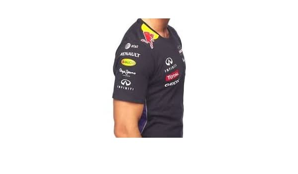 Red Bull Camiseta de Fórmula 1 F1 tamaño XL: Amazon.es: Deportes y ...
