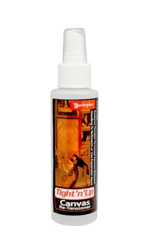 Masterpiece Artist Canvas Tight-n-Up Canvas Retensioner Spray, 4-Ounce