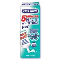 Plus White 5 Minute Speed Whitening Gel, Sensitive Teeth, 3-Ounce Tube (Pack of 3)
