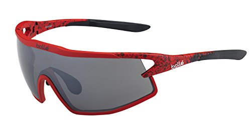 Bolle B-Rock Sunglasses, Matte Red & Black/TNS Gun for sale  Delivered anywhere in USA