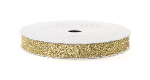 - American Crafts Glitter Tape, Brown Sugar, 3/8-Inch