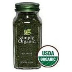 Simply Organic Dill Weed ( 1x.81 OZ) ( Multi-Pack)