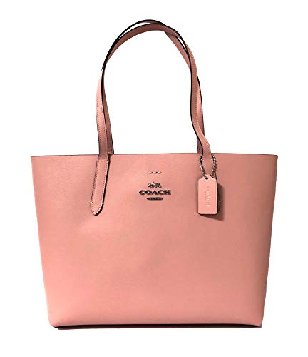 Coach F31535 Leather Avenue Tote (SV/Petal Strawberry)