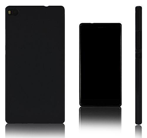 Xcessor Vapour Funda Carcasa de TPU Gel Flexible para Huawei P8. Negro