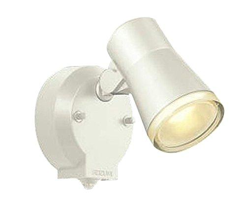 コイズミ照明 人感センサ付スポットライト タイマー付ON-OFFタイプ 拡散 白熱球60W相当 オフホワイト塗装 AUE640557 B008U4HC90 11069