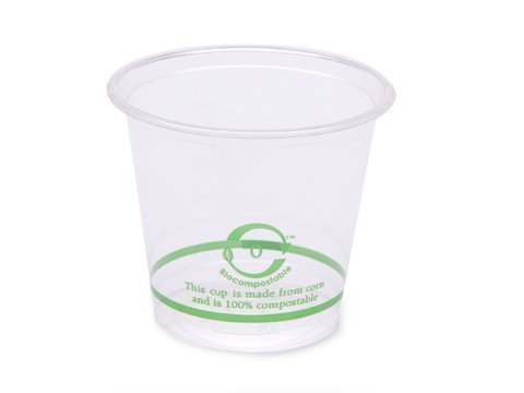 Pla Cold Cups - World Centric's 100% Biodegradable, 100% Compostable PLA 6oz Cold Cup (Package of 400)
